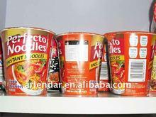Halal instant cup noodles tom yum flavour