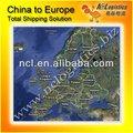 mar de china del costo del transporte de hong kong a hamburgo