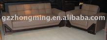 Modern full grain leather sectional sofa SF-040