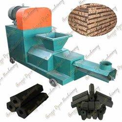 Straw Briquetting Machine Screw Type High Output 450Kg/h