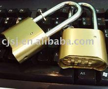 50MM 4 digits bottom number brass lock,digital lock safe