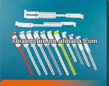 vinyl identification bracelets for hospital use