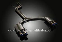 Titanium exhaust for Audi S5 catback