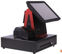 Reliable Slim Fanless POS with Touch Screen EPOS Retail; Cheap POS System