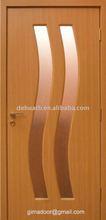 inner wooden glazed office room door