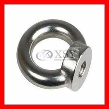 stainless steel machining parts/china cnc machining ring nuts
