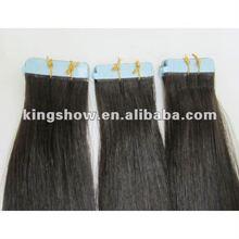 100% Human Hair Adhesive tape Hair Extension Skin weft