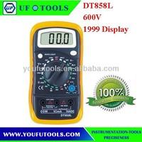 HOT SELL DT858L 3 1/2 Digital Multimeter 600V