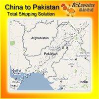 Guangzhou to Karachi imports from China to Pakistan