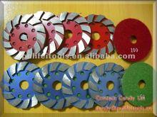 Concrete grinding and polishing pads - metal pad