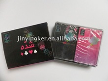 ZaiN double plastic playing cards ,Plastic playing cards , PVC , Playing cards