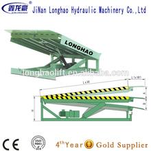 stationary hydraulic yard ramp