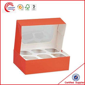 2014 High Quality Cheap Cupcake Box