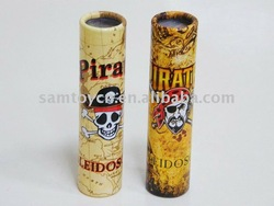 2012 new 15cm kaleidoscope pirate toys with EN71 certificate