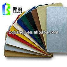 outdoor sign board material aluminum composite panel with pvdf coated aluminum sandwish panel
