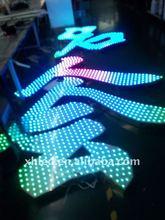 Shenzhen Xinhe LED RGB back light signage led with sd card controoler