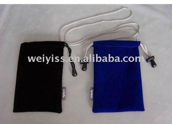 promotional custom velvet pouch