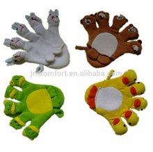 Promotion duck baby animal bath glove