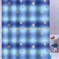 de transferencia de calor deimpresión cortina de ducha de tela de transferencia de calor de diseño