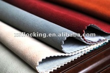 Easy cleaning water and oil repellency flocking fabric