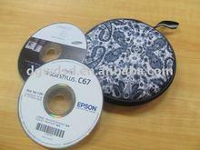 Portable cd dvd storage cases