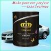 Metallic White Paint for Car Repairing