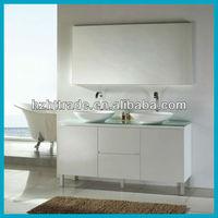 Modern bathroom vanity base cabinet