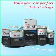 Acrylic Urethane, Nitrocellulose, Car Refinish Aluminum Paint