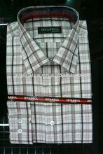 alta qualidade camisa dos homens casual
