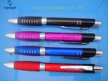 rubber touch gel plastic ball pen
