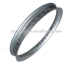 U 1.60X17 Motorcycle spoke racing rim/40 hole CUB Motorbike alloy color rim