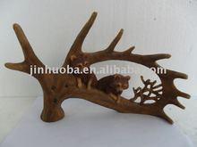 Resin home decorative antler