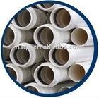 White Spigot-Socket End PVC Pipe for DWV