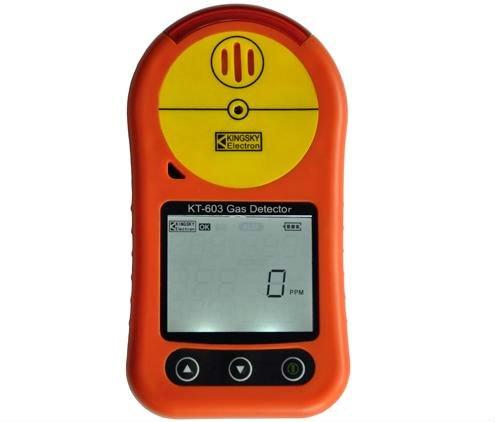 Portátil H2S sulfuro de hidrógeno detector de monitor