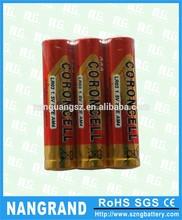 Alkaline dry batteries aa aaa lr03