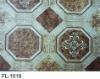 Royal FL-1019 high quality 0.35mm print PVC flooring in rolls