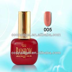 Rainbow Soak-Off UV&LED gel polish(one step gel)