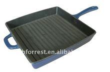 rectangular cast iron frying pans
