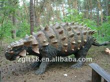 moveing with sound animatronic dinosaur Ankylosaurs