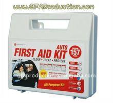 Car/Auto/travel First Aid Kit 157pcs