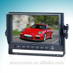 7 Inch digital bus lcd vehicle monitor 10~32V