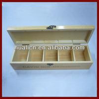 Luxury Display Wooden Tea Bag Storage Box