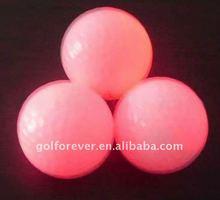 golf glow ball & golf LED ball