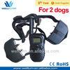 100lv lcd shock + vibra remote no bark pet dog training collar