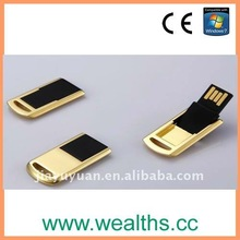 New 64MB-32GB flip Mini USB Flash/Pen Drive for promtion