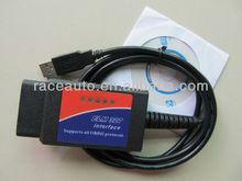 Wholesale ELM327 obd2 scanner diagnostic cable ELM 327
