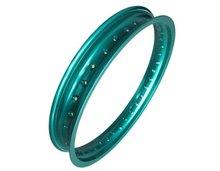 WM 19 inch motorcycle racing rim/Green color Enduro motorcycle wheel