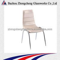 multicolor cheap modern Chrome Dining Chair
