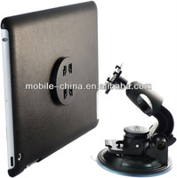 Multi-functional rotary case with car mounts for the ipad 3 and ipad 4