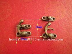 Metal Small Lock For Gift Box , Box Latch,Gift Box Lock
